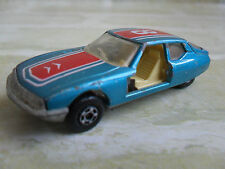 ORIGINAL VINTAGE 1971- LESNEY MATCHBOX SUPERFAST No 51 CITROEN S.M - england