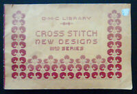 Vintage DMC Library Cross Stitch New Designs IIIrd (3rd) Series Booklet France