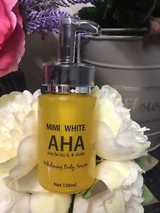 Mimi White Aha  Whitening Body  Serum 120 ml Plump.