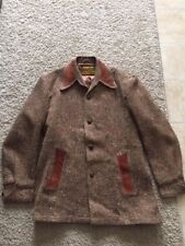 "A ""ROBERTA LEWIS IDEA"" BROWN TWEED JACKET"