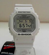 New Casio G-Shock DW-5600MW-7 Marine White Watch