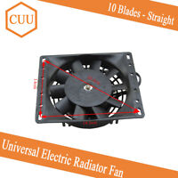 6'' 12V Electric Radiator Cooling Fan 10 x Plastic Straight Blades For Car Truck