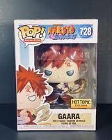 💥FUNKO POP! Naruto Shippuden - Gaara 728 Hot Topic Metallic + Protective Case