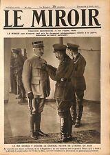 Roi George V Médaille le Général Pétain l'Ordre du Bain WWI 1917 ILLUSTRATION