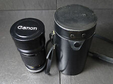 Canon FD Lens 200mm 1:2.8 SSC Top! mit Original Box excellent vintage