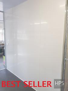 PVC Hygienic wall cladding sheets 8 foot x 4 foot/ 2440/ 1220