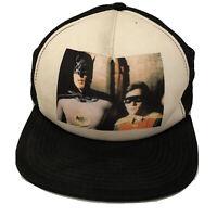 DC Comics 1966 Era Batman Robin Picture Trucker Snapback Hat Cap