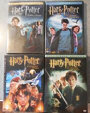HARRY POTTER 4 MOVIE LOT ( DVD) ALL 4 DVDS BRAND NEW AND SEALED