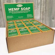 Hemp Seed Oil Soap - Lavender for Sensitive Skin - GREEN Hemp - Full box of 36