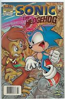 Sonic the Hedgehog 55 Newsstand Variant VF+ First Monkey Khan Archie 1998