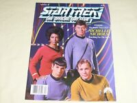 Star Trek The Official Fan Club Magazine 73 TOS movies Nichelle Nichols Uhura