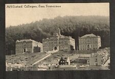 Vtg Postcard ~ Affiliated Colleges, Photo, San Francisco ~ Unused WH