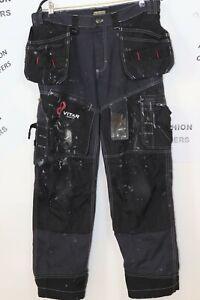 Blaklader 1500 Men Cordura Craftsman Cotton Twill Trousers X1500 Holster sz C50