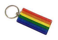 Flag Rainbow Pride LGBT Keychain Rainbow KeyChain - Gay and Lesbian Orgullo LGBT
