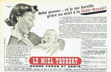 Publicité Advertising 097  1954  le miel Trubbert gelée royale