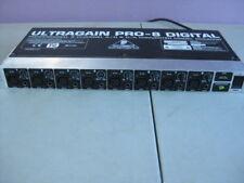 Behringer ADA8000 Ultragain ADAT Pro-8 Digital A/D D/A Converter, Parts/Repair