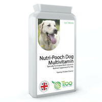 Nutri-Pooch Multi-vitamin for Dogs 120 Chicken Flavour Tablets,minerals