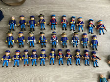 Playmobil Lot 30 Soldats Nordiste Western Cavalierie sudiste