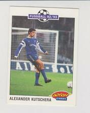 Panini Fussball 92-93 Action Cards #226 Alexander Kutschera Bayer 05 Uerdingen