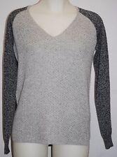 THEORY Lofty Cashmere TARLEDIA HM V-Neck Sweater S $255 NWT