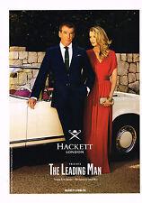 PUBLICITE ADVERTISING 114  2014  HACKETT LONDON  pret à porter homme PIERCE BROS