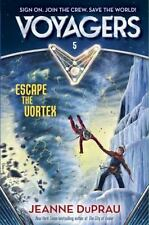 Voyager: Voyagers: Escape the Vortex (Book 5) by Jeanne DuPrau (2016, Hardcover)