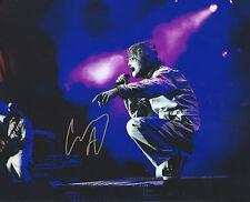 Corey Taylor auto-gra Slipknot Stone Sour Legend Iowa Music RARE PROOF COA LOOK!