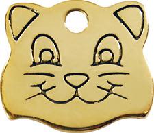 médaille laiton gravée pour chat red dingo