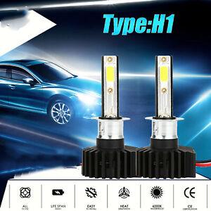 Kit Ampoule Phare H1 LED 2200W 330000LM Feu de Route Antibrouillard Xenon 6000K