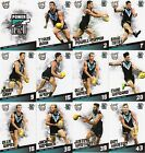 2017 AFL SELECT CERTIFIED PORT ADELAIDE POWER FULL SET OF COMMONS 12 CARDS !!