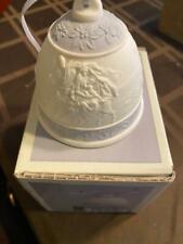 1993 Lladro Christmas Bell Ornament - Porcelain - In Original Box