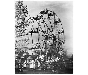 KU KLUX KLAN on Ferris Wheel Cañon City, Colorado 1926  Vintage Photo Reprint