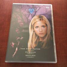 BUFFY THE VAMPIRE SLAYER DVD. SEASON 4, EPISODES 64-66. DISC 6