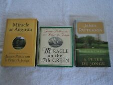 James Patterson  Lot of 3 Hardcover Golf Books (See Details Below)