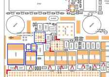 RETROILLUMINAZIONE Full Kit for Apple iphone6s DIM \ SCHERMO BIANCO BOBINA + vetro Diodo + FILTRI