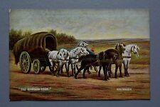 R&L Postcard: Misch & Stock Great Masters, Rosa Bonheur, U.S. Wagon & Horses