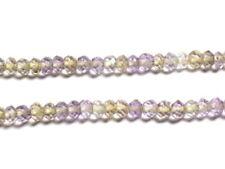 Fil 155pc env - Perles de Pierre - Amétrine Rondelles Facettées 3x2mm - 45585500