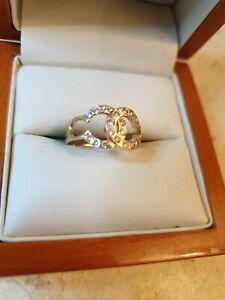 Ladies Chanel 18k Gold Ring