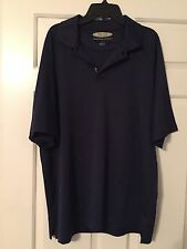 Austin Clothing Co Moisture Waking Uv Protection Golf Shirt Sz L