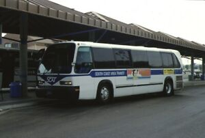 South Coast Area Transit GM RTS bus original slide