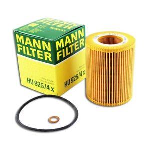 Mann-filter Oil Filter HU925/4x fits BMW 5 Series E39 523i 528i 530i