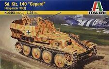 """Nouveau italeri, échelle 1/35, kit plastique nº 6461 Sd.Kfz.140 """"gepard"""" flakpanzer 38 (t)"""