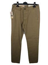 Ralph Lauren Rrp 189€ Mens Designer Beige Cargo Style Chino Trousers Pants W31