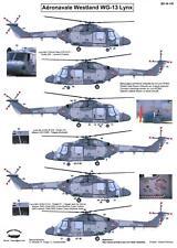 Berna Decals 1/48 WESTLAND LYNX Mk.4 Helicopter Aeronavale French Navy