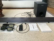 Sony Home Theatre system with 2 pairs of 3D Active glasses HT-CT60BT