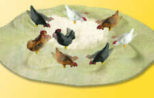 Viessmann Operating Pecking Chickens 1528 HO Scale - Free Shipping