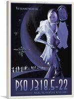 ARTCANVAS PSO J318.5-22 Rogue Planet NASA Poster Canvas Art Print