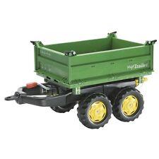 Rolly Toys John Deere Mega-Kipper Trailer Anhänger Dreiseitenkipper grün