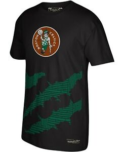 Boston Celtics NBA Rip S.S.T-Shirt 2XL/Black/Mitchell & Ness/NWT!