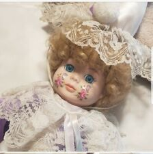 Vintage 1980s Dynasty Dolls Collection Porcelain Doll ~15 In. Tall. No tags